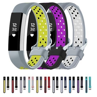 Replacement Silicone Gel Band Strap Bracelet Wristband For Fitbit Alta HR AU