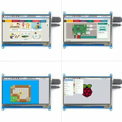 Waveshare 7 inch Raspberry Pi Display 1024x600capacitive Touchscreen LCD HDMI #M