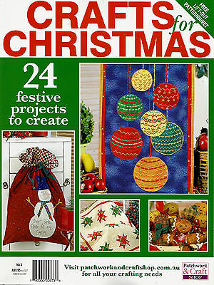 Crafts For Christmas  Magazine. No 3.  2013. Pattern Sheets Attached