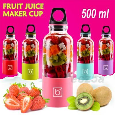 Portable Bingo Juicer Cup Mixer USB Automatic Vegetable Fruit Bottle Blender