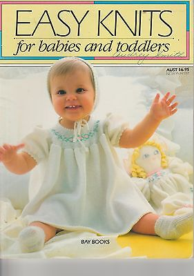 Easy Knits Baby & Toddler Knitting Patterns-Leggings,jumpers,jackets,beanies+++