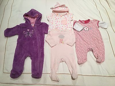 Bulk Baby Girl Clothing Size 0000 / Newborn (Seed, Pumpkin Patch, Sprout, etc)