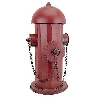 Vintage Metal Fire Hydrant Statue Outdoor Garden Lawn Yard Art Decor Ornament