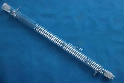 600mm Length Liebig Condenser, With one 24/29 joint,one 34/35 joint, 10mm hose