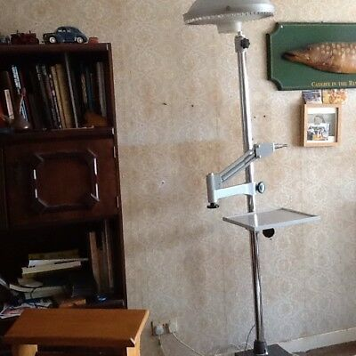 Opticians Phoropter Stand And Light.