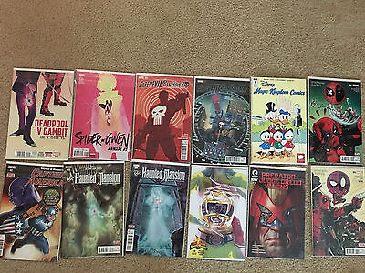 Marvel Dc Deadpool Batman Comic Book Lot Of 42 Comics Pictured Most Nm Condition
