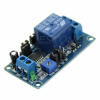 12V DC Delay Relay Delay Turn on / Delay Turn off Switch Module with Timer
