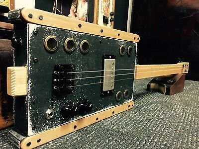 Buzz Box Premium Slide Guitar - Cigar Box Guitar