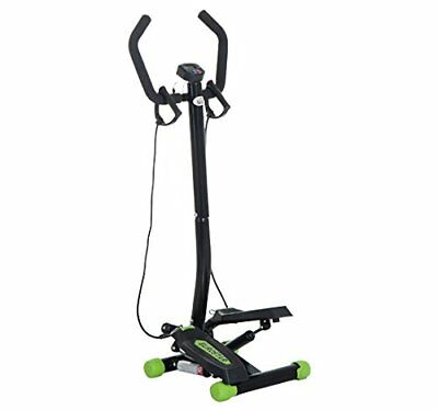 HOMCOM Mini Stepper with Handle Workout Fitness Machine Pulling Rope Sport Home