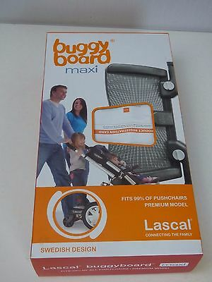 LASCAL MAXI  BUGGY BOARD  IN BLACK  Buggyboard Black EXTENSIONS MISSING