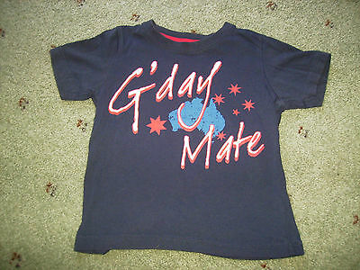 Size 2 Australia Day T-Shirt.