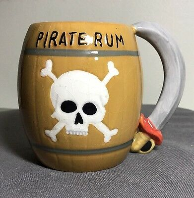 vintage Agiftcorp pirate-rum Pirate Stein cup