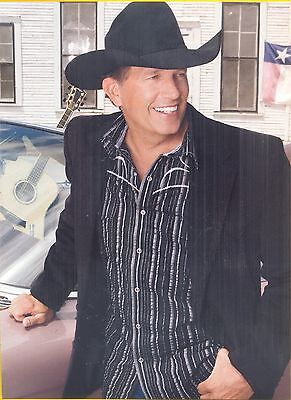 "George Strait, Country Music Star in 2014 Magazine Print Clipping, ""Legends"""