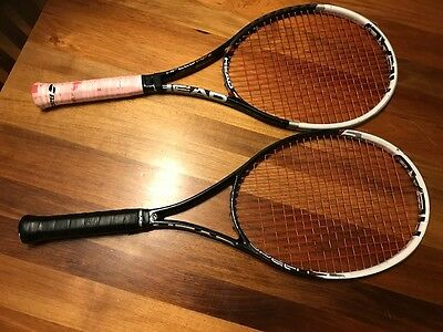 2 X Head Speed MP tennis racquets with grip size 4 1/2 in good condition