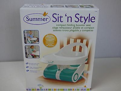 Summer Infant Sit N Style Booster Seat, New Born Baby Essentials