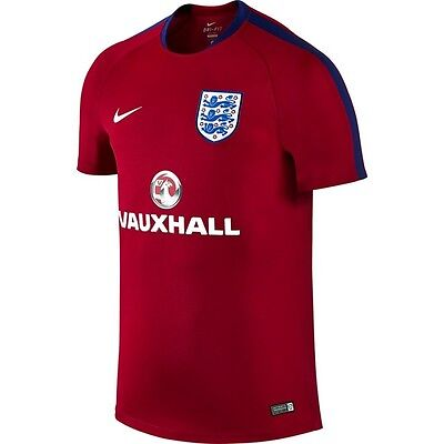 England Men's Flash Training Shirt SS Top Official Licensed Nike Product