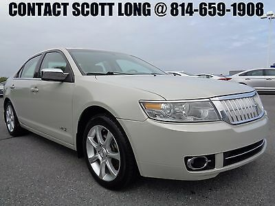 2007 Lincoln MKZ/Zephyr 2007 Lincoln MKZ 3.5L V6 Moonroof Leather 2007 Lincoln MKZ Power Sunroof Heated Cooled Leather 1Owner New Tires Light Sage