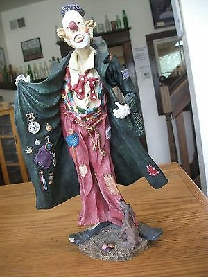 Duncan Royale-History of Clown Figurine Collector Edition 874/20000 American