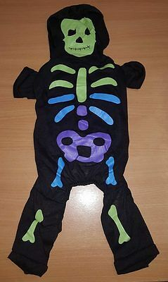 NEW Armitage Pet Dog skeleton Halloween funny costume fashion accessory BN