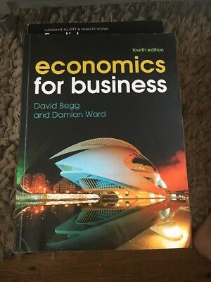 Economics for Business by Damian Ward, David Begg (Paperback, 4th ed.)