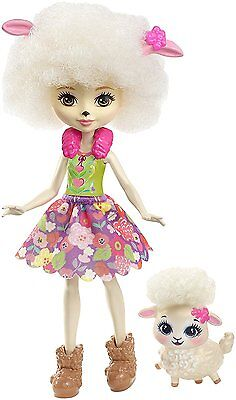 Enchantimals ~ Lorna Lamb Doll & Sheep Pet