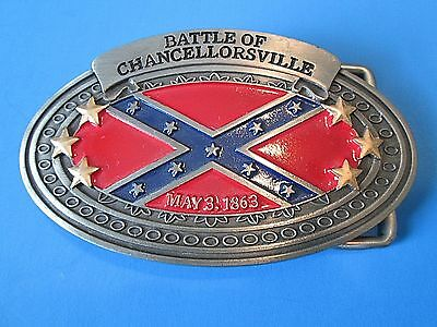 Bradford Exchange Pride of the South Belt Buckle  #A0881