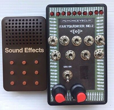 Circuit Bent Fart Machine sequencer - Experimental/Fx/Synth/Drone/Drone/Noise