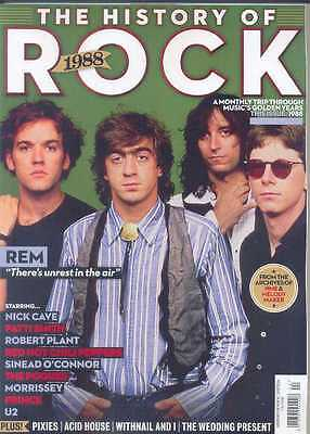 Uncut - The History Of Rock - Issue 24 1988 (Rem, Nick Cave, Patti Smith, U2)