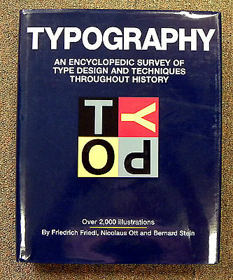 Typography Book: An Encyclopedic Survey of Type Design [L757]