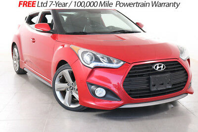 2013 Hyundai Veloster Turbo Hatchback 3-Door 2013 Hyundai Veloster Turbo LEATHER NAV BLUETOOTH REAR CAM