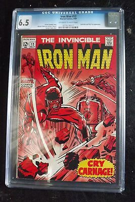 Iron Man 13 CGC 6.5 2nd Controller Appearance Silver Age