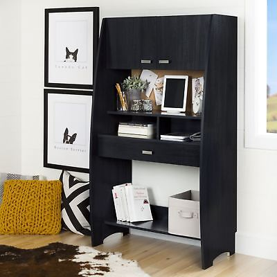 South Shore Furniture Reevo Desk with Hutch and Storage