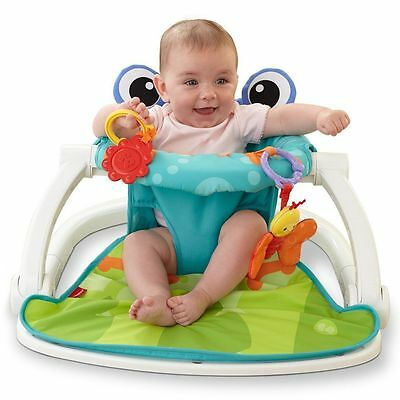 Fisher-Price Sit Me Up Floor Seat Froggy
