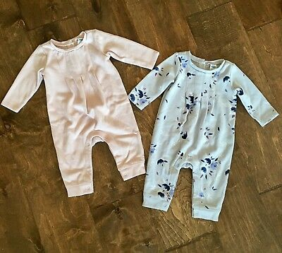Old Navy Fleece Lined Jumpsuits Size 3-6 Months