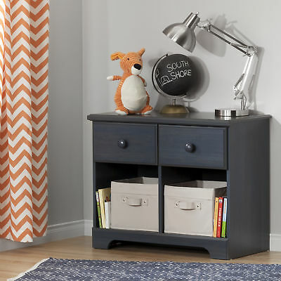 South Shore Furniture Summer Breeze 2-Drawer Double Nightstand