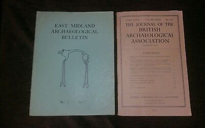 Journal Of The British Archaeological Association Volume 18 1965 & East mids 63'