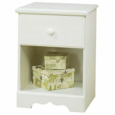 South Shore Furniture, Summer Breeze Collection, Night Table, Vanilla Cream