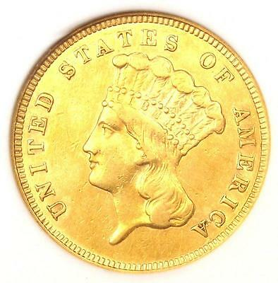 1859 Three Dollar Indian Gold Coin $3 - Certified ANACS XF45 (EF45) - Rare Date!