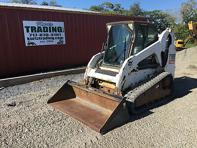 2007 Bobcat T190 Tracked Skid Steer Loader w/Cab!