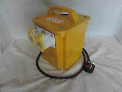 110 volt Transformer/Converter with Two Ports (372B)