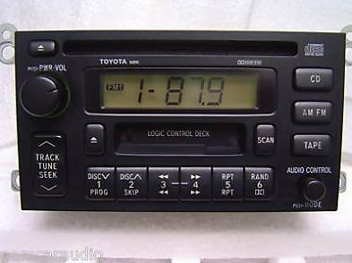 TOYOTA Avalon Camry Solara AM FM Radio Stereo Tape CD Player 16810 Factory OEM