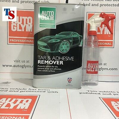 Autoglym Tar and Glue Remover 5L 5 Litre +AG Bottle  (Car TRADE ORIGINAL)