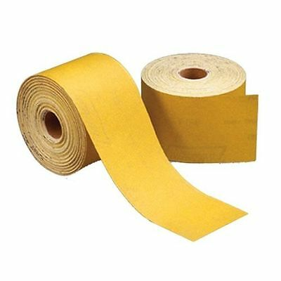 "Norton 06148 PSA Sticky Back Gold Reserve Sheet Roll 320 Grit 2-3/4"" x 25 Yards"