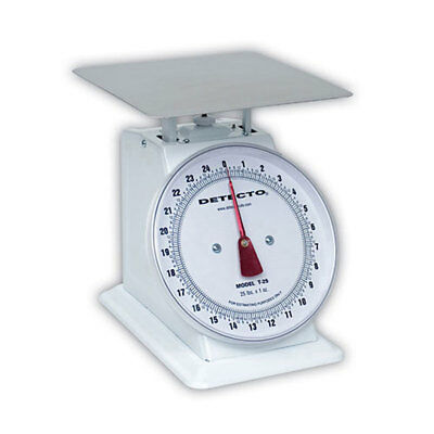 Detecto T-25 (T25) Top Loading Large Dial Scale-25-lb capacity