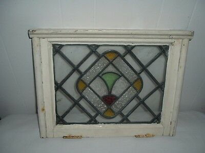 Vintage Stained Glass Window 1920-1930? From S Carolina - Very Nice!
