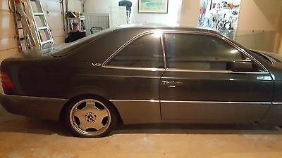 1995 Mercedes-Benz S-Class S600 2 Door Coupe 1995 Mercedes Benz S600 V12 Sports Coupe