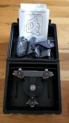 HANAU WIDE-VUE DENTAL ARTICULATOR with EXTRAS