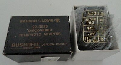 Bausch & Lomb No. 22-3030 Discoverer telephoto adapter NIB