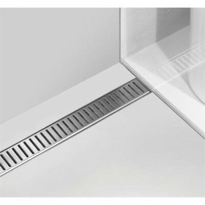 Shower drain stainless steel, various Grids, all incl.