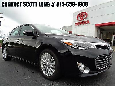 2015 Toyota Avalon Certified 2015 Hybrid Limited Black Metallic Certified 2015 Avalon Hybrid Limited Navigation Heated Cooled Leather Sunroof
